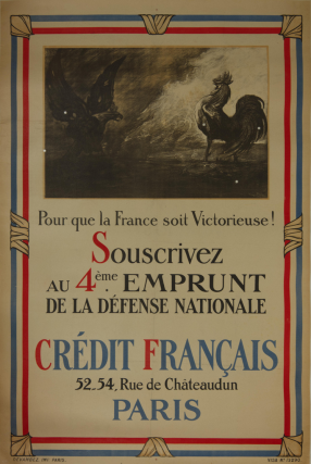 Credit Francais Poster