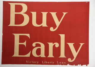Buy Early and Lend Poster Set