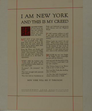 I Am New York Poster