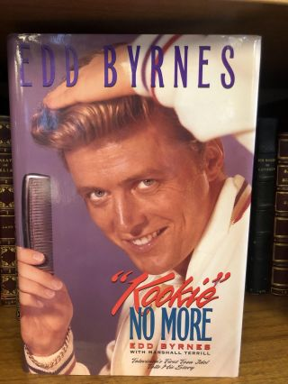 """KOOKIE"" NO MORE [SIGNED]. Edd Byrnes"