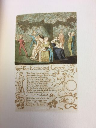 SONGS OF INNOCENCE. William Blake