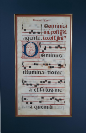 Liturgical Manuscript on Vellum