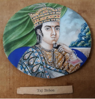 Collection of Moghul Miniature Paintings