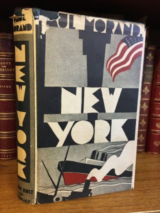 NEW YORK. Paul Morand, Hamish Miles