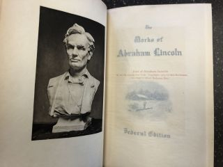 THE WRITINGS OF ABRAHAM LINCOLN [EIGHT VOLUMES]. Abraham Lincoln