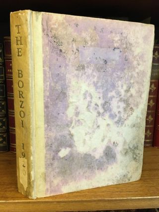 THE BORZOI 1920 - BEING A SORT OF RECORD OF FIVE YEARS' PUBLISHING [SIGNED]. Alfred A. Knopf