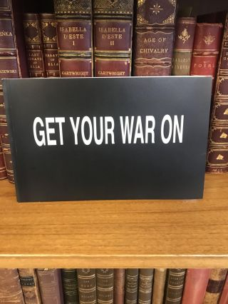 GET YOUR WAR ON [SIGNED]. David Rees