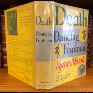 DEATH AND THE DANCING FOOTMAN. Ngaio Marsh