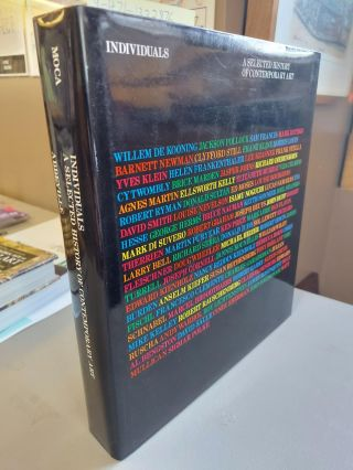 INDIVIDUALS: A SELECTED HISTORY OF CONTEMPORARY ART. Howard Singerman