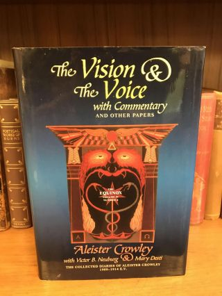 THE EQUINOX, VOLUME IV, NUMBER 2: THE VISION AND THE VOICE WITH COMMENTARY AND OTHER PAPERS....
