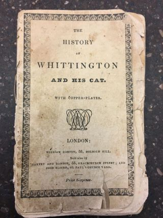 THE ANCIENT HISTORY OF WHITTINGTON AND HIS CAT