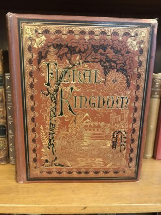 THE FLORAL KINGDOM, ITS HISTORY, SENTIMENT AND POETRY: A DICTIONARY OF MORE THAN THREE HUNDRED...