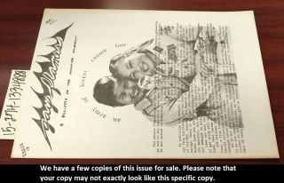 Gay Flames: A Bulletin of the Homofire Movement [Issue 12, May 1971