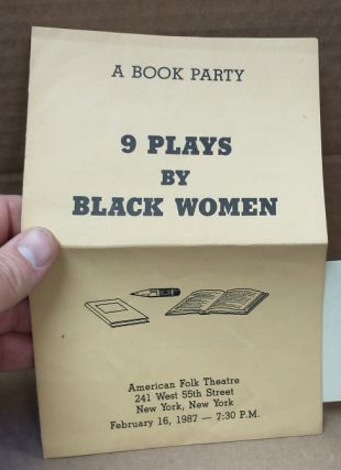 A Book Party: 9 Plays by Black Women