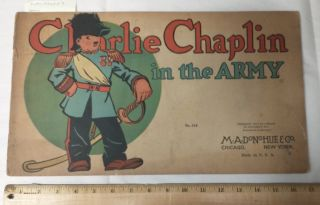 CHARLIE CHAPLIN IN THE ARMY (NO. 318