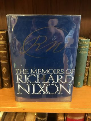 THE MEMOIRS OF RICHARD NIXON [SIGNED]. Richard Nixon