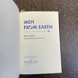 MEN FROM EARTH [SIGNED]