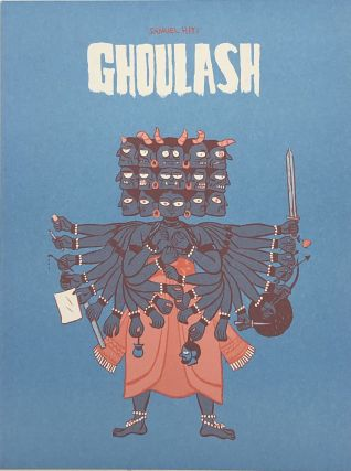 Ghoulash: A Collection of Inky Manifestations. Samuel Hiti