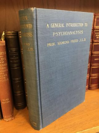A GENERAL INTRODUCTION TO PSYCHOANALYSIS. Sigmund Freud, G. Stanley Hall