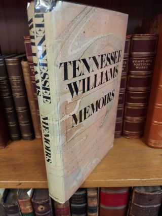 MEMOIRS [SIGNED]. Tennessee Williams