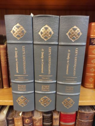 LEE'S LIEUTENANTS: A STUDY IN COMMAND [3 VOLUMES]. Douglas Southall Freeman