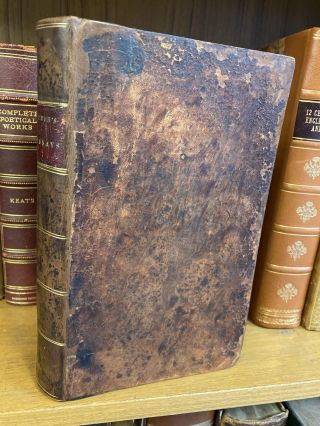 ESSAYS, LITERARY, MORAL AND PHILOSOPHICAL. Benjamin Rush