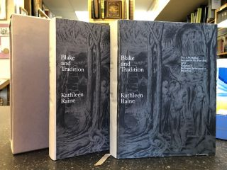 BLAKE AND TRADITION [TWO VOLUMES]. Kathleen Raine