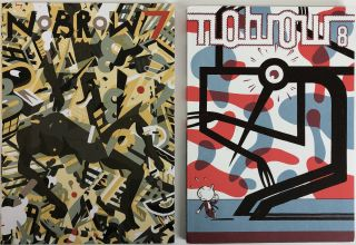 NOBROW 7: Brave New World (2012) and NOBROW 8: Hysteria (2013). Alex Spiro
