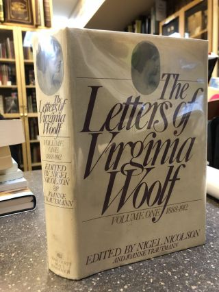 THE LETTERS OF VIRGINIA WOOLF [SIX VOLUMES]. Virginia Woolf, Nigel Nicolson, Joanne Trautmann
