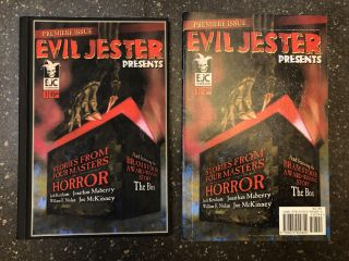 EVIL JESTER PRESENTS: PREMIER ISSUE. Jack Ketchum, Jonathan Maberry, William F. Nolan, Joe McKinney