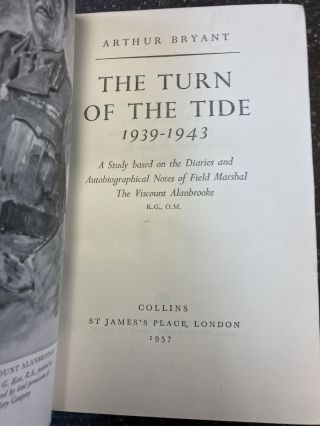 THE TURN OF THE TIDE 1939-1943