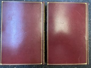ALICE'S ADVENTURES IN WONDERLAND [WITH] THROUGH THE LOOKING-GLASS, AND WHAT ALICE FOUND THERE [TWO VOLUMES]