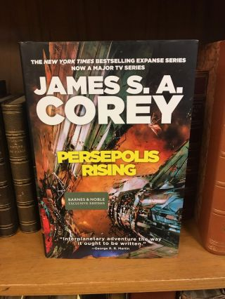 PERSEPOLIS RISING [SIGNED]. James S. A. Corey