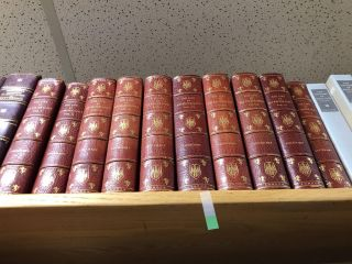 THE LIFE OF SIR WALTER SCOTT [10 VOLUMES] [SIGNED]. John Gibson Lockhart