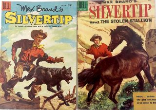 Silvertip Four Color No.637 and 667. Max Brand