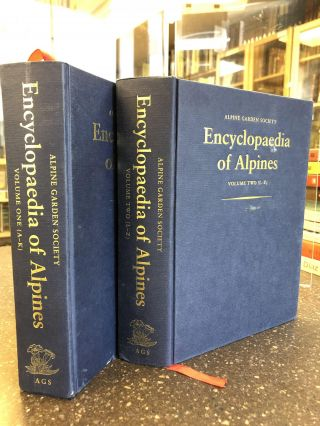 ENCYCLOPEDIA OF ALPINES [2 VOLUMES]. Kenneth Beckett, Christopher Grey-Wilson