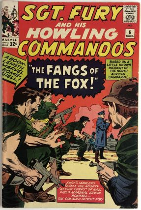 Sgt. Fury And His Howling Commandos No.6. Jack Kirby