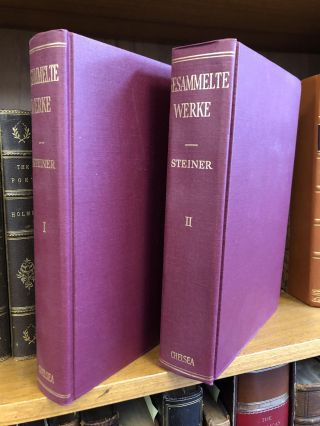 GESAMMELTE WERKE [TWO VOLUMES]. Jacob Steiner