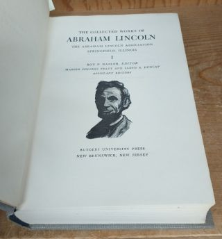 The Collected Works of Abraham Lincoln [9 Volumes]
