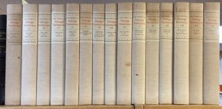 THE WORKS OF GEORGE SANTAYANA [FIFTEEN VOLUMES] [SIGNED]. George Santayana