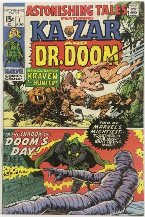 Astonishing Tales No.1 (Featuring Kazar and Dr. Doom). Jack Kirby, Stan Lee, Marie Severin