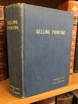 U.T.A. MARKETING COMMITTEE COURSE IN SELLING PRINTING [UNITS 1-6