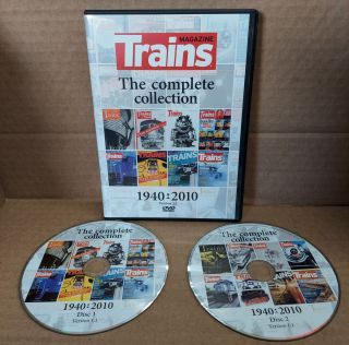 Trains Magazine The Complete Collection 1940-2010 [DVD