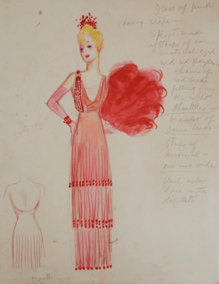 Pink Evening Gown (ref #18). Montedoro