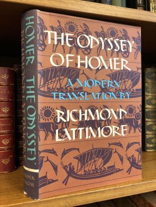 THE ODYSSEY OF HOMER: A MODERN TRANSLATION. Homer, Richard Lattimore