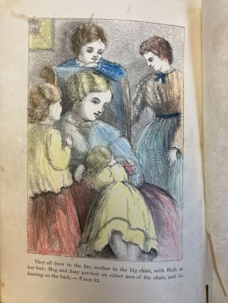 LITTLE WOMEN, OR MEG, JO, BETH, AND AMY [TWO VOLUMES]