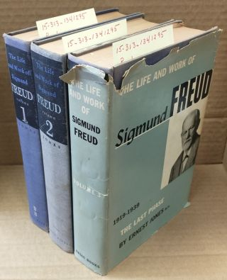 THE LIFE AND WORK OF SIGMUND FREUD [3 VOLUMES]. Ernest Jones, Sigmund Freud