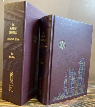 MARTIAN CHRONICLES: THE COMPLETE EDITION [SIGNED]. Ray Bradbury, John Scalzi, Edward Miller