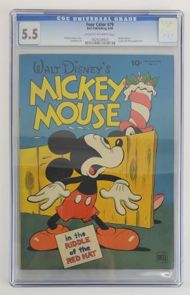 WALT DISNEY'S MICKEY MOUSE FOUR COLOR #79. Carl Barks, Eleanor Packer