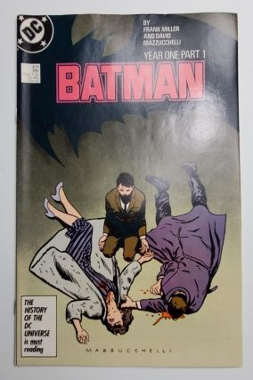 BATMAN YEAR ONE: PART ONE. Frank Miller, David Mazzucchelli